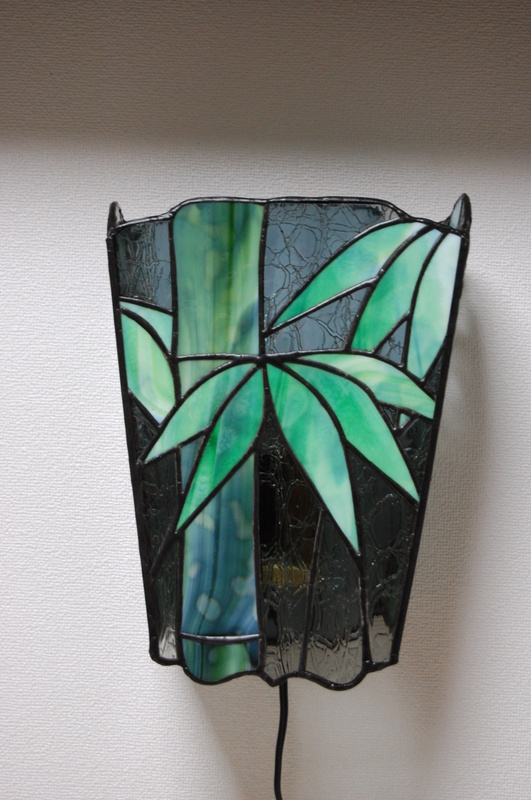 壁掛け灯「 竹 」