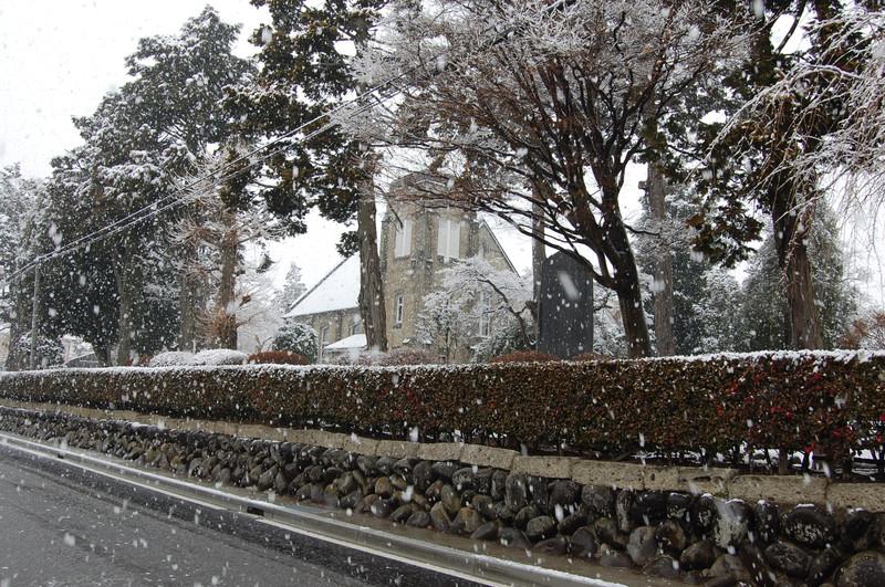 日本キリスト教団 安中教会のステンドグラス