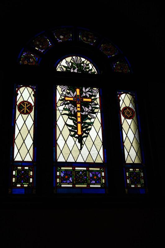 安中教会のステンドグラス