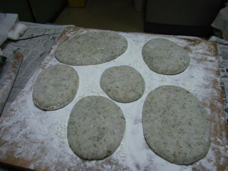 「かき餅」を作りました